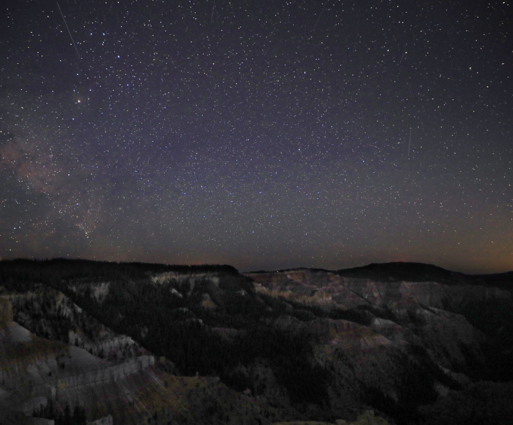 Cedar Breaks Dark Sky