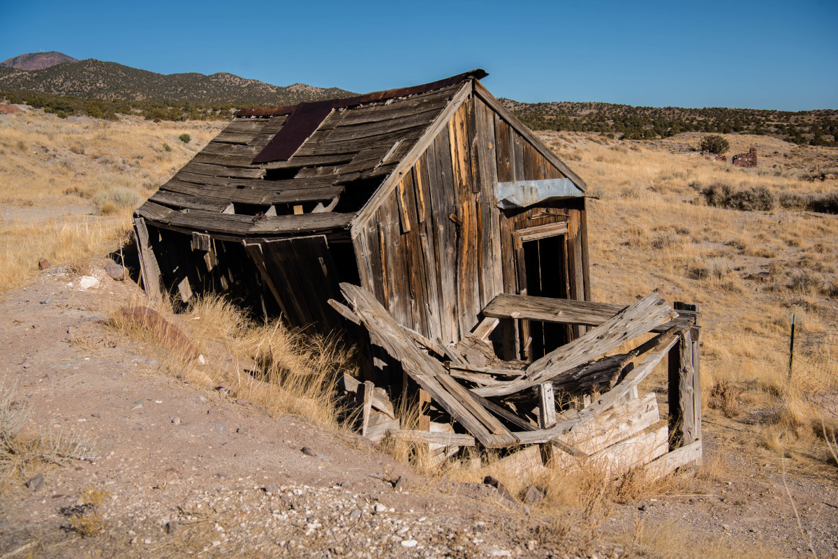 Frisco Utah Ruin